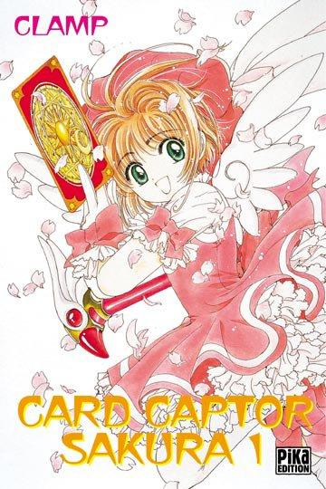 Card Captor Sakura - Informations sur le manga + couvertures (tome 1 à 8)