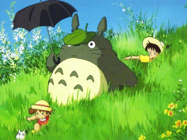 Mon Voisin Totoro - Résumé