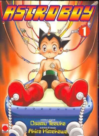 Astro Boy (version XXIème siècle) - Informations sur le manga + couvertures (tome 1 à 3)