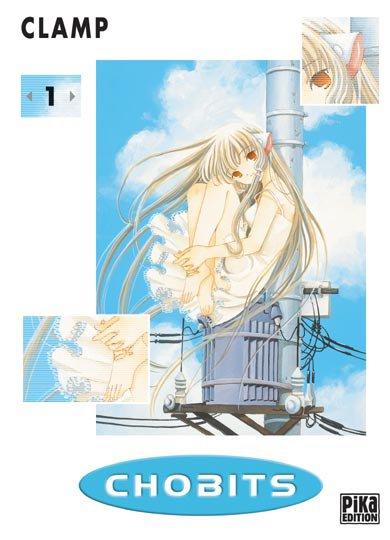 Chobits - Informations sur le manga + couvertures (tome 1 à 8)