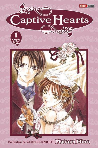 Captive Hearts - Informations sur le manga + couvertures (tome 1 à 5)