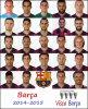 Barça: Saison 2014-2015 ! Résultats !