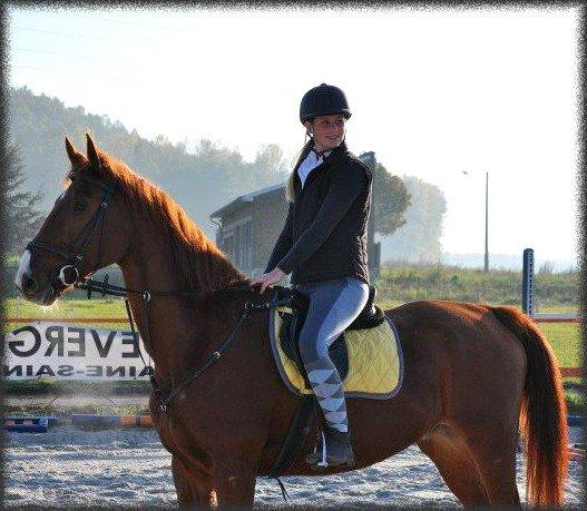 _______Monter à cheval vous donne une sensation de liberté.