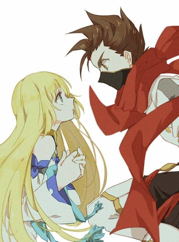 Le ninja et la jeune fille