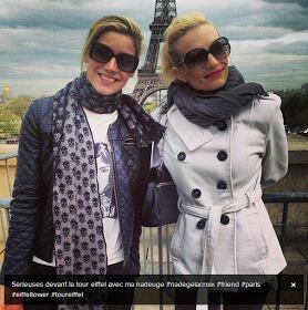 Nadege & Audrey a Paris !! :)