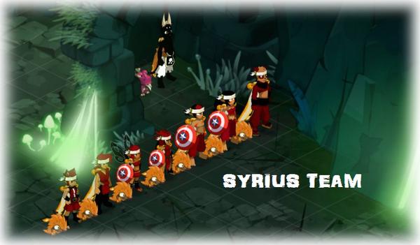 Changement de couleur de la Syrius Team