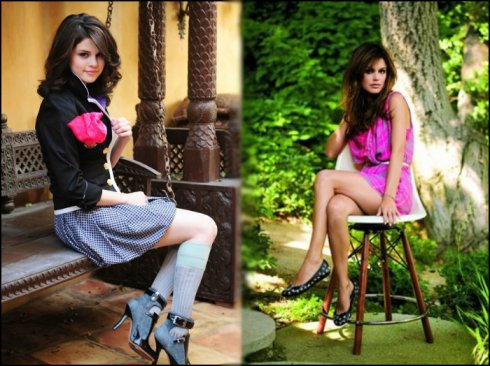 Selena Gomez & Rachel bilson