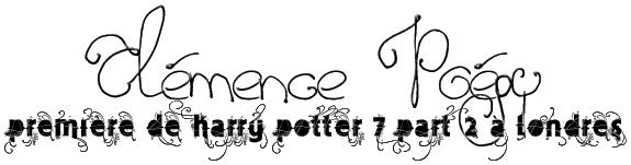 Clémence Poésy, Premiere de HP7.2 à Londres