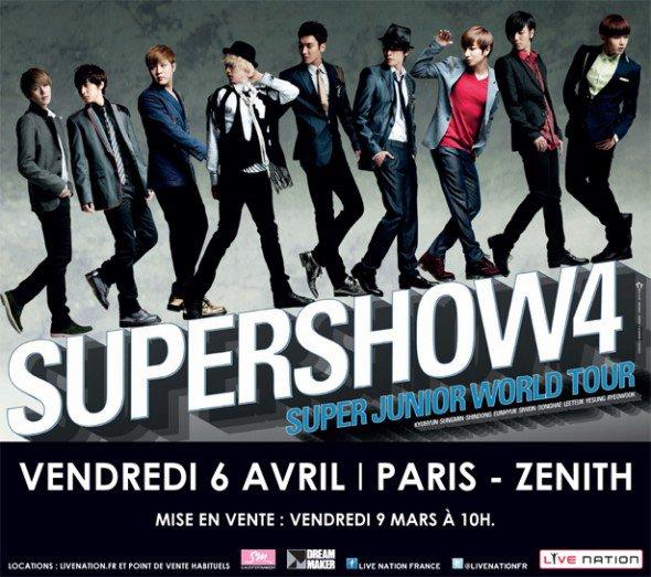 PROJETS SUPER SHOW 4 AU ZENITH DE PARIS