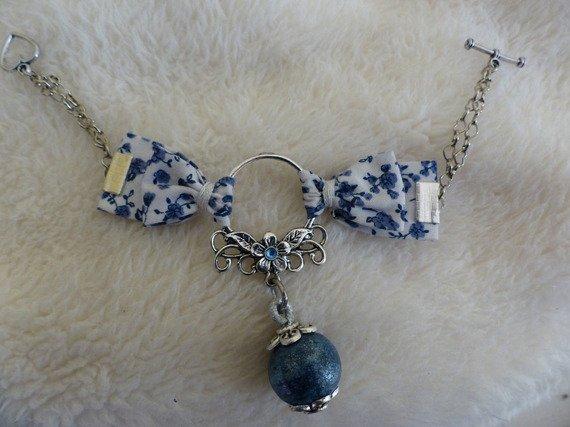 Bracelet liberty bleu <3
