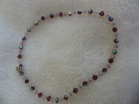 Collier ras du cou perles <3