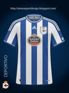 Maillot 2011-2012 du Deportivo