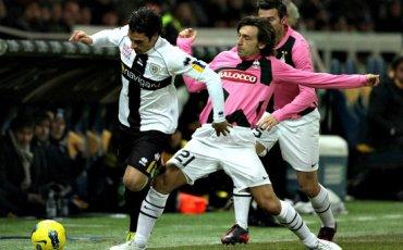Le match entre Parme-Juventus a été reportée en raison des chutes de neige