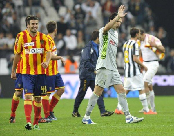 La Juventus a fait une mauvaise opération en étant tenu en échec à domicil part Lecce