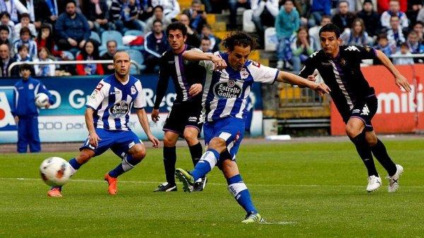 Le Deportivo a laissé filer la victoire dans le temps additionnel à la 94 face à Valladolid à Riazor