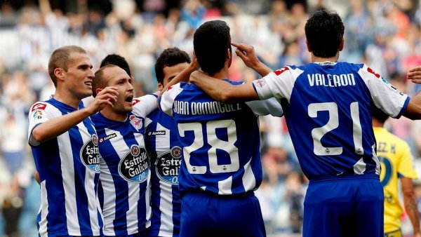 Le Deportivo se rapproche un peu plus vers la 1 Division de la Liga ave son succès contre Las Palmas