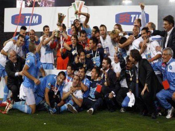 La Juventus n'a pas pu réaliser le doublé en perdant la final de la Coupe d'Italie contre Napoli