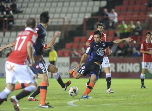 Le Deportivo s'est imposé in extremis dans le temps additionnel sur la pelouse de Nastic