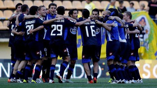 Le Deportivo dit au revoir à la Liga Adelante part une dernière victoire contre Villaraeal B