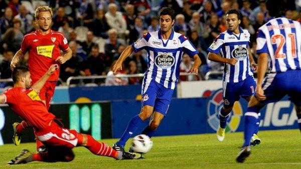 Le Deportivo a perdu son 1 match de la saison en s'inclinant contre Seville a Riazor