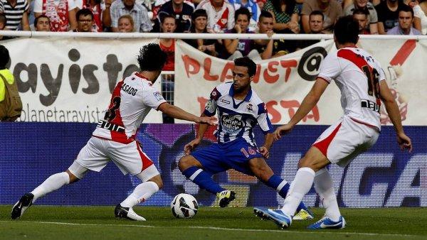 Le Deportivo se met en position de danger avec la 3 defaite de suite sur la pelouse du Rayo