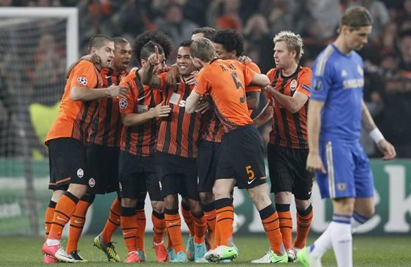 Les résultats finals de la 3 journée de la Ligue des Champions 2012-2013 du groupe: E