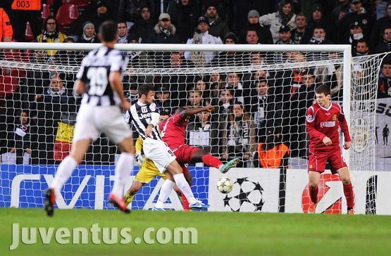 La Juventus a pu éviter une défaite en faisant match nul sur la pelouse de Nordsjælland