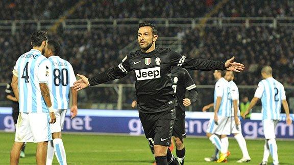Les résultats finals de la 12 journée du championnat italien 2012-2013