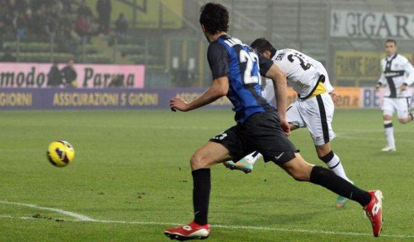 Les résultats finals de la 14 journée du championnat italien 2012-2013