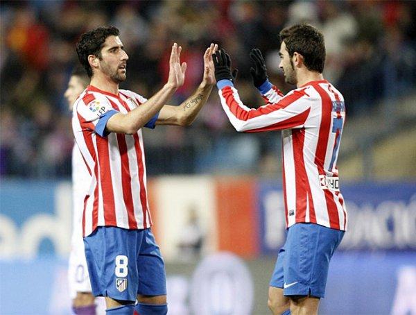 Les résultats final des 16 final retour de la de la Copa del Rey 2012-2013