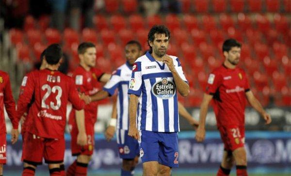 Le Deportivo est éliminé de la Copa del Rey en faisant match nul sur la pelouse de Mallorca