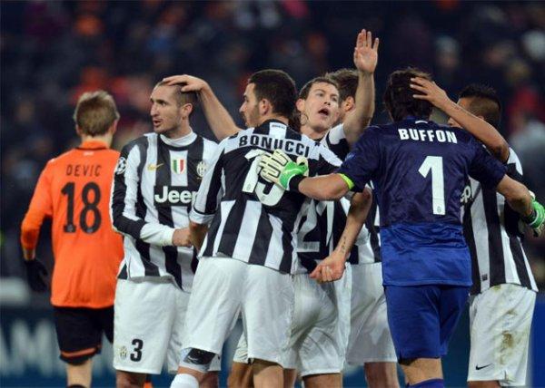 La Juventus se qualifie pour les 1/8 de final en gagnant sur la pelouse de Shakthar Donestk