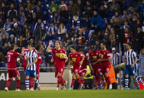 Les résultats finals de la 15 journées de la Liga BBVA 2012-2013