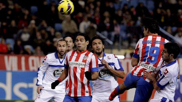 Très mal image du Deportivo qui s'incline lourdement sur la pelouse de l'Atlético de Madrid