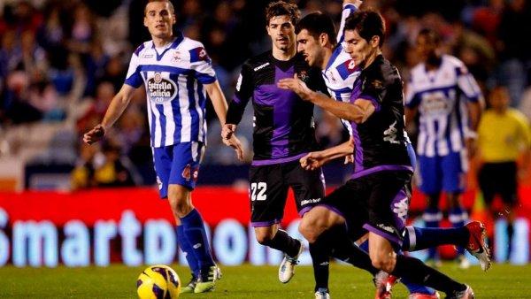 Mauvaise opération pour le Deportivo qui ne gagne pas en concédant le nul contre Valladolid