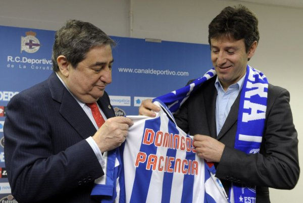 Le Deportivo a un nouveau entraineur portuguais c'est Domingos Paciencia