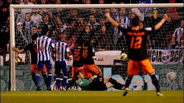 Défaite injuste du Deportivo qui aurait du mérité nul au lieu de une défaite contre Valence