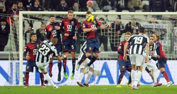 Mauvaise opération pour la Juventus qui à été tenu en échec à domicil contre Genoa