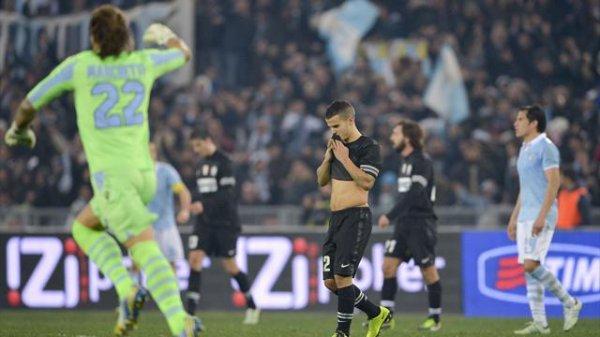 La Juventus n'iras pas en final en s'inclinant sur la pelouse de la Lazio