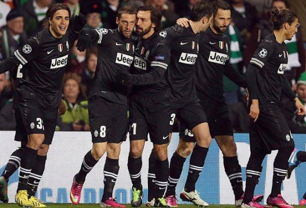Magistral succès de la Juventus qui est presque qualifié pour les 1/4 en battant le Celtic