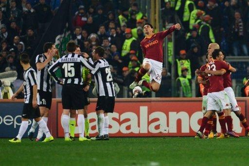 Les résultats finals de la 25 journée du championnat italien Série A 2012-2013