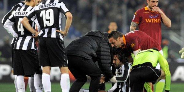 La Juventus s'est incliné pour la 3 fois sur la pelouse de la Rome