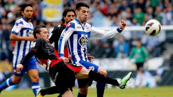 Mauvaise opération pour le Deportivo qui a été tenu en échec contre Rayo à Riazor