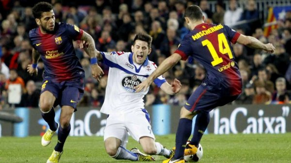Défaite logique du Deportivo qui s'incline sur la pelouse de Barcelone au Camp Nou
