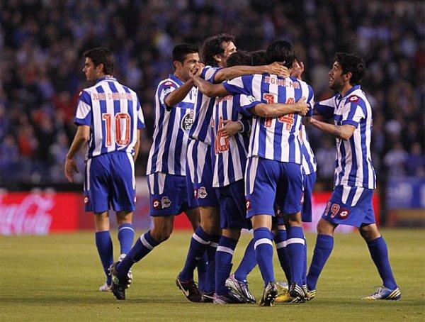 Victoire difficil et important du Deportivo contre Zaragoza au stade de Riazor