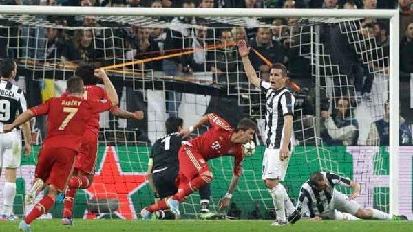 Il n'y a pas eu de miracle ou la Juventus s'incline encore à domicil contre le Bayern