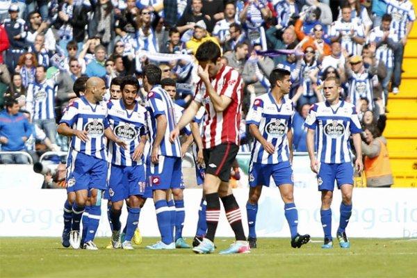 Le Deportivo a fait une mauvaise opération en étant tenu en échec à domicil face Bilbao