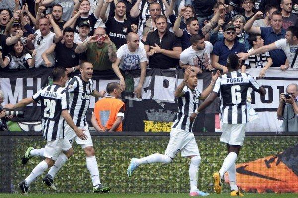 La Juventus s'est proclamée champion d'Italie en battant Palerme