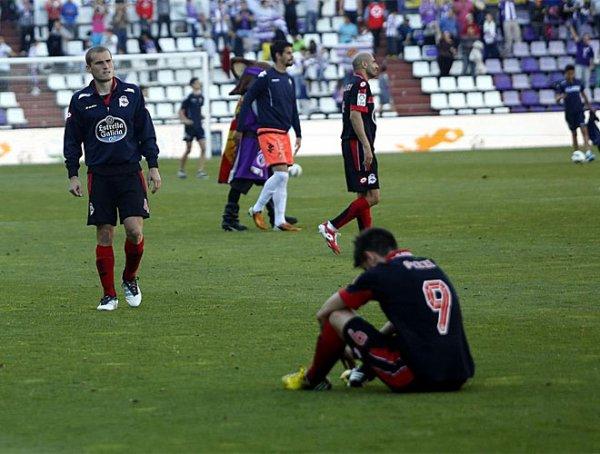 Mauvaise opération pour le Deportivo qui s'incline sur la pelouse de Valladolid