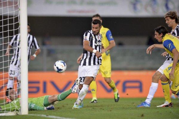 La Juventus s'est imposée difficilement sur la pelouse de Chievo